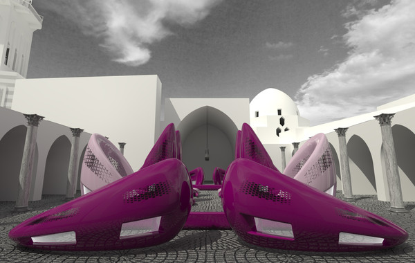 """Playscapes Site """"A"""" Pedestrian View"""