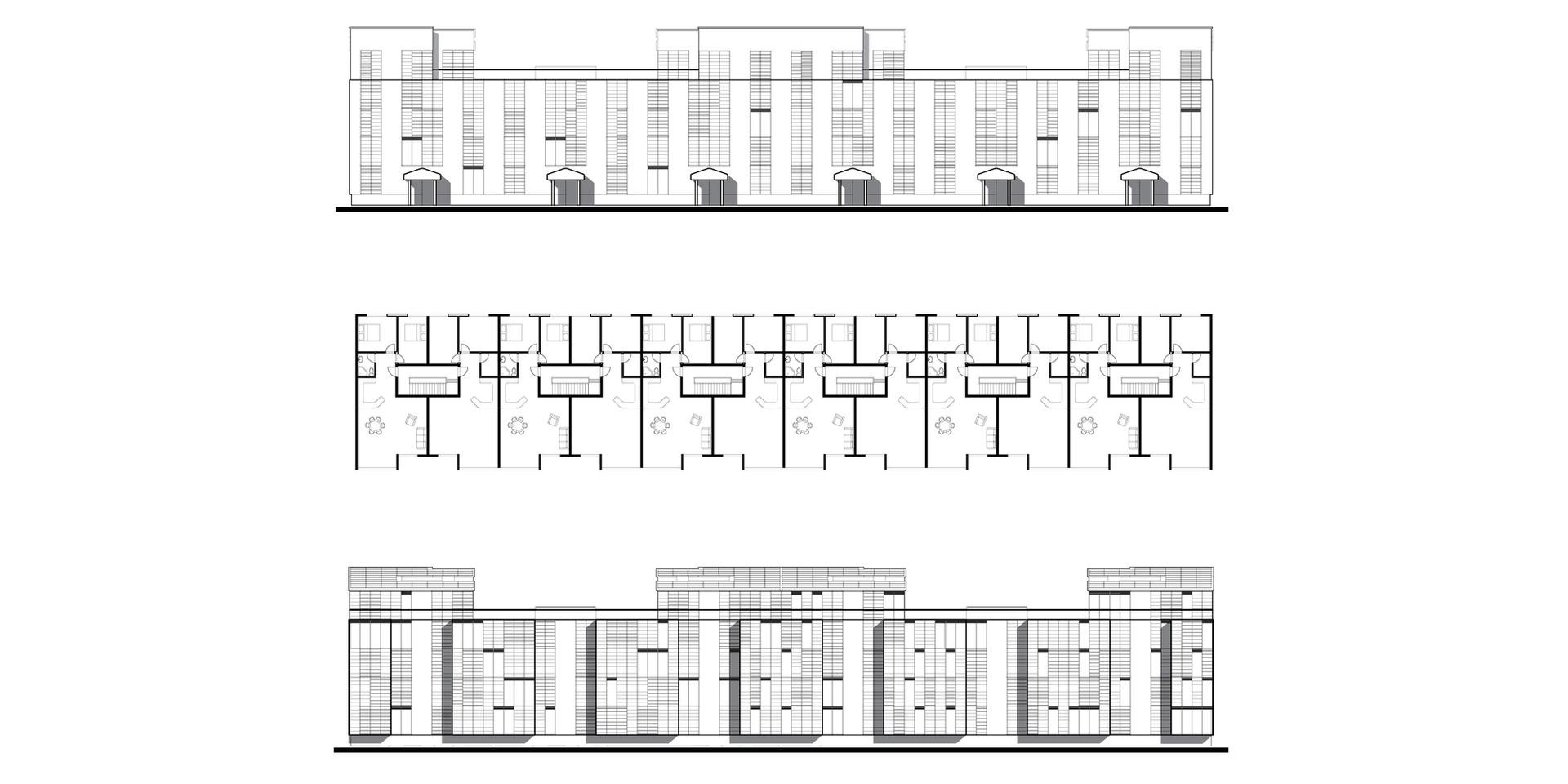 Ellebo Housing Renovation Block #1 Drawings