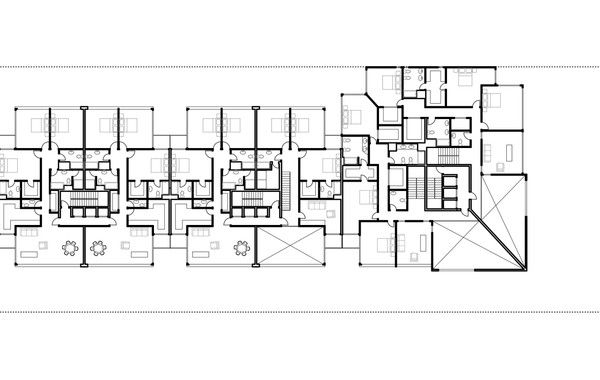 Lima Golf Tower Typical Plan 2