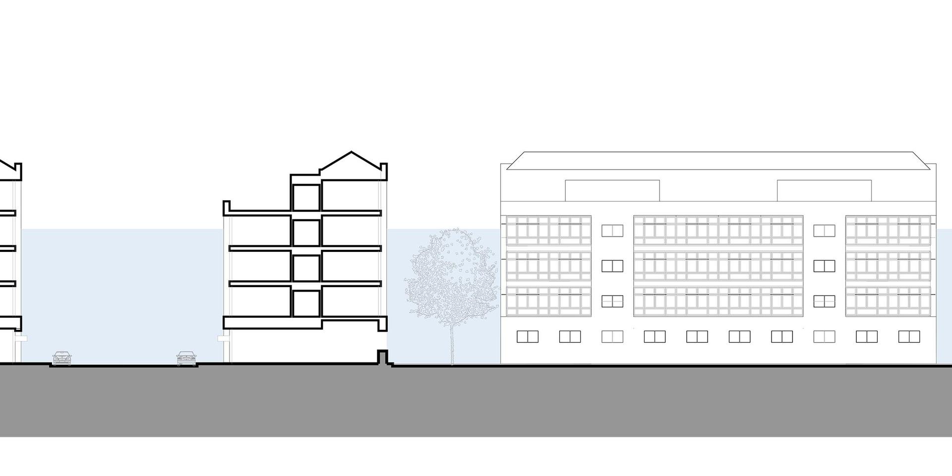 Zim Masterplan Building Type 1 Section