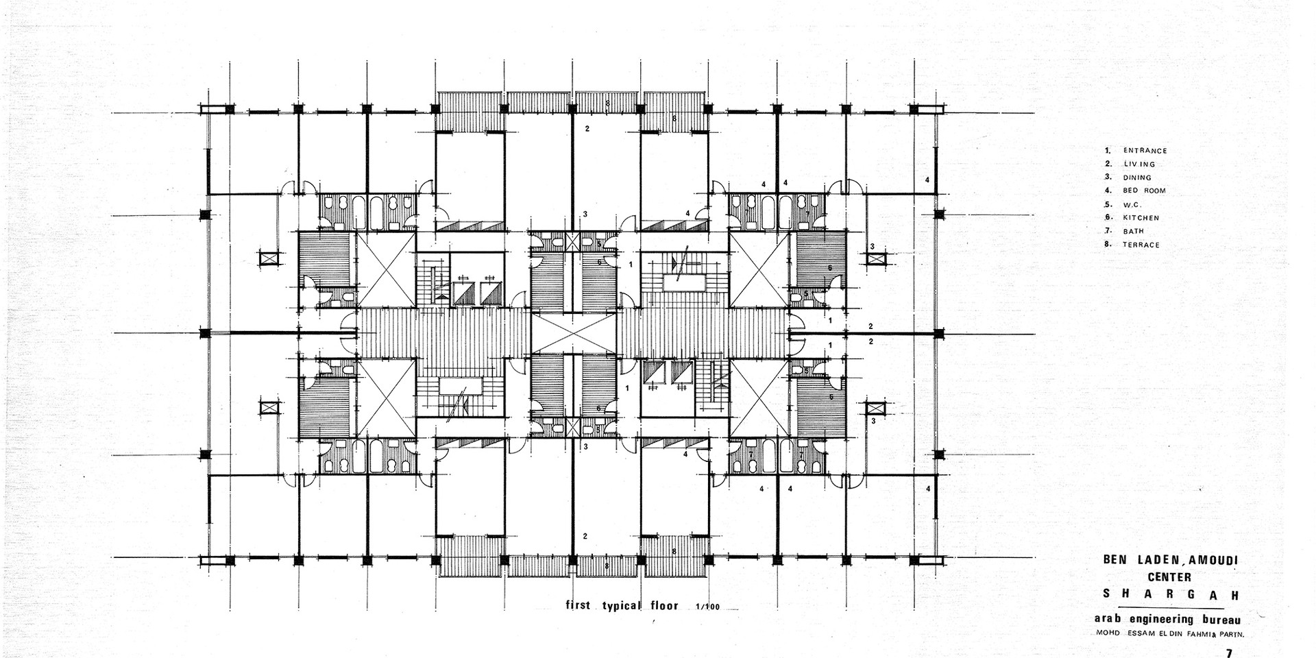 Amoudi Center First Residential Floor Plan