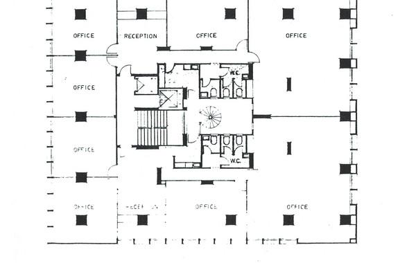 Hedico Main Office Building Typical Floor