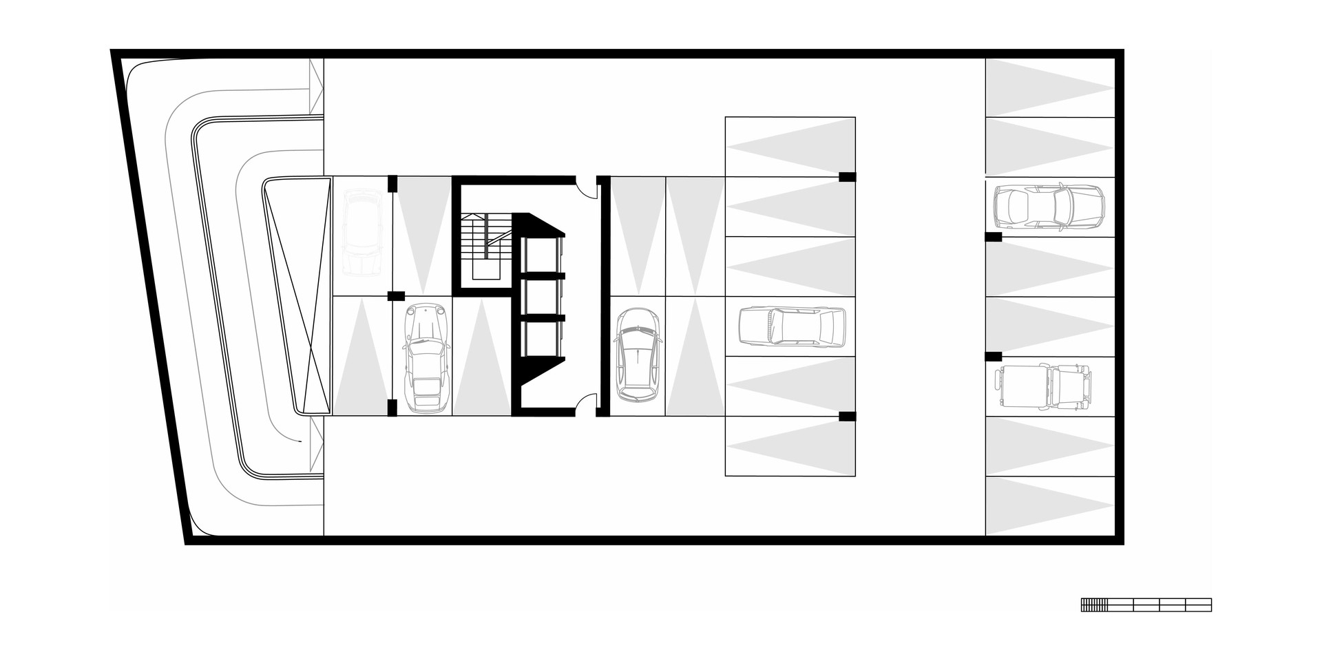 EcoOffices Typical Basement Plan
