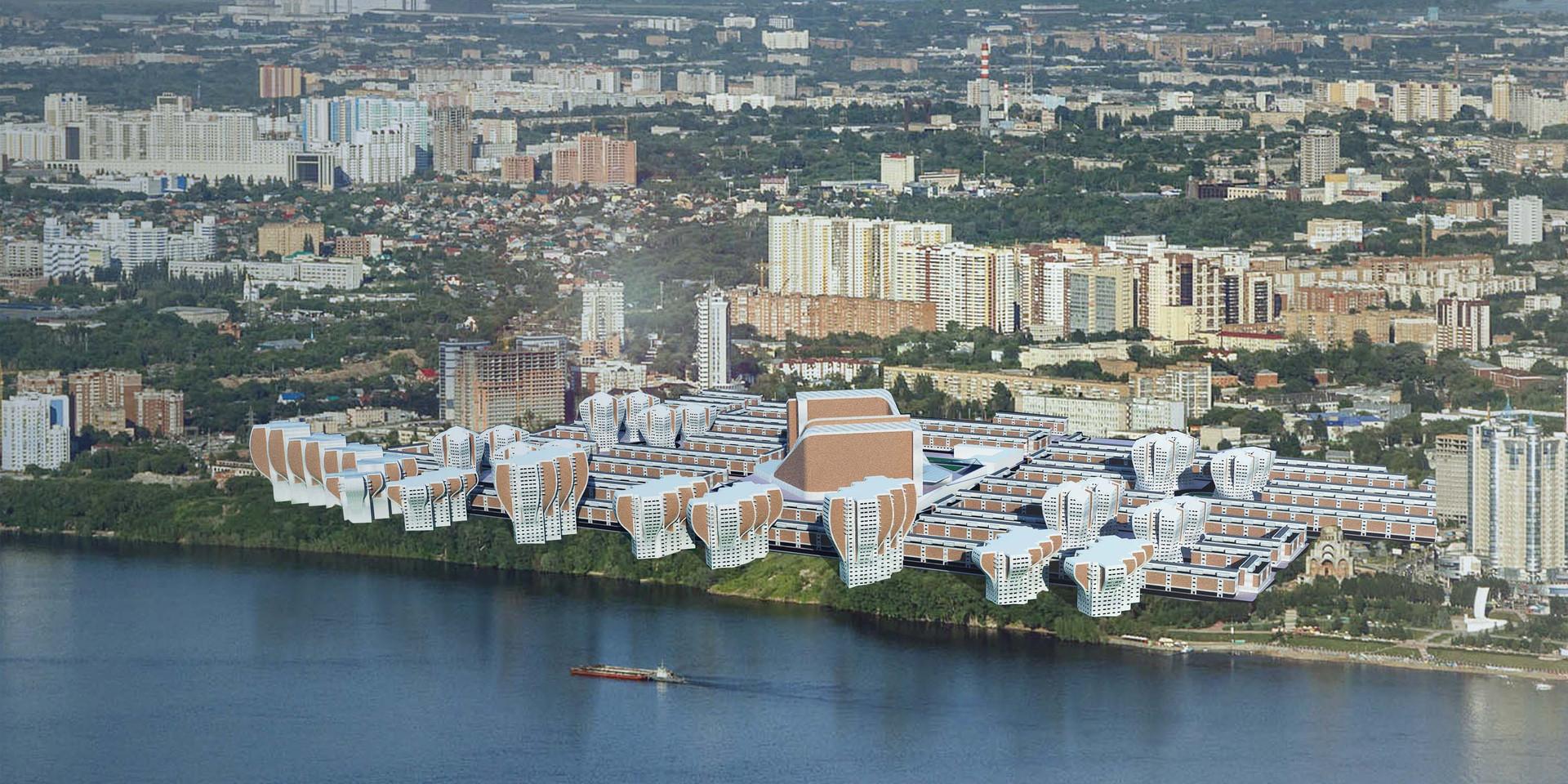Zim Masterplan Aerial View