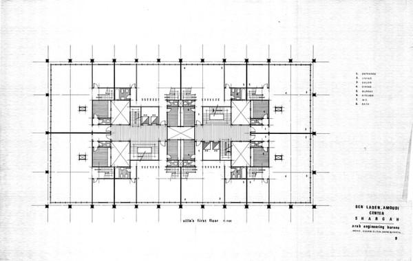 Amoudi Center Villas First Floor Plan