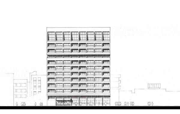 Misr Insurance Shubra Mixed Use Building Facade