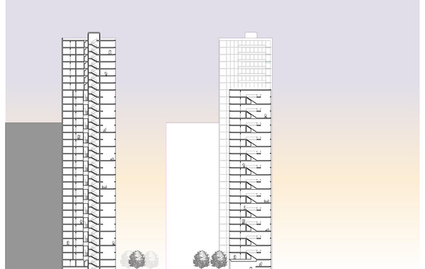 Lima Golf Tower Cross Sections