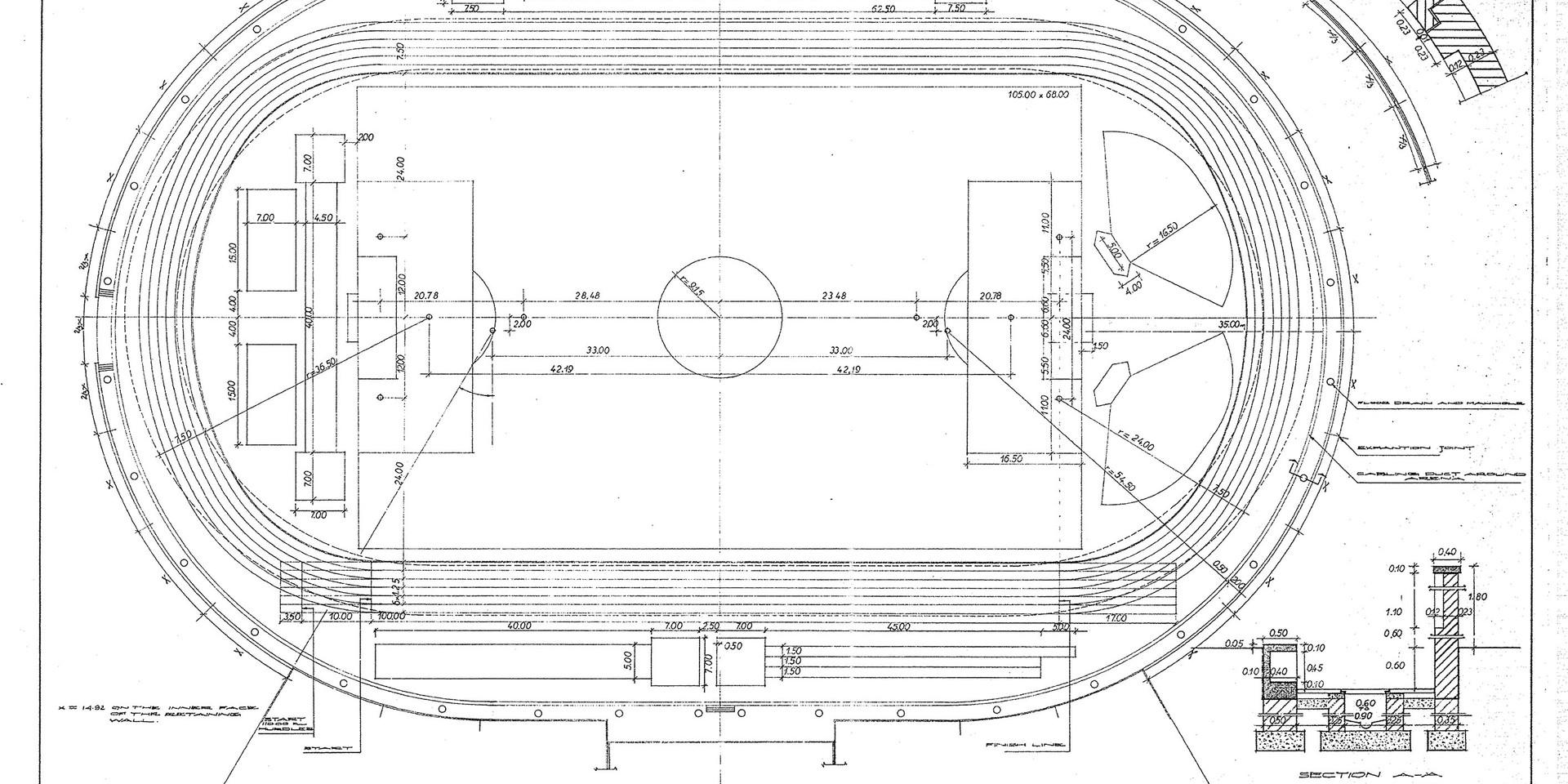 KSC Football Stadium Plan