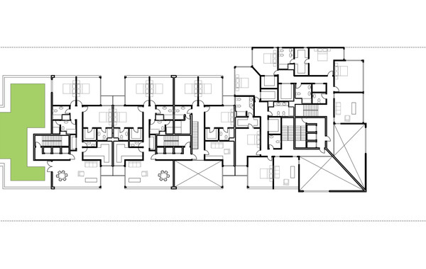 Lima Golf Tower Typical Plan 3