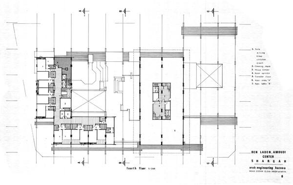 Amoudi Center Fourth Floor Plan