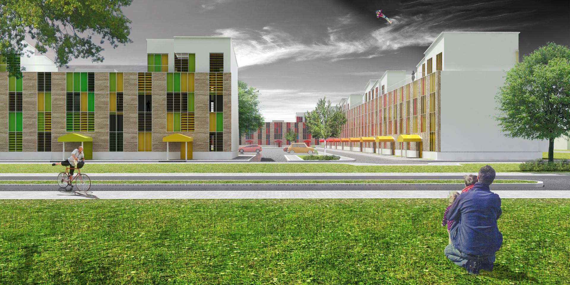 Ellebo Housing Renovation Street View