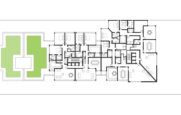 Lima Golf Tower Typical Plan 4