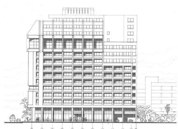 Misr Insurance Giza Mixed Use Building Facade