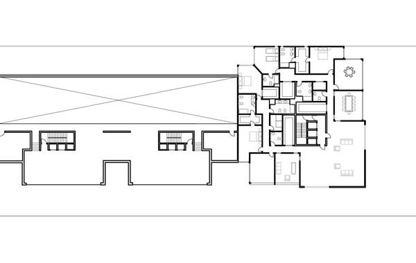 Lima Golf Tower Ground First Plan