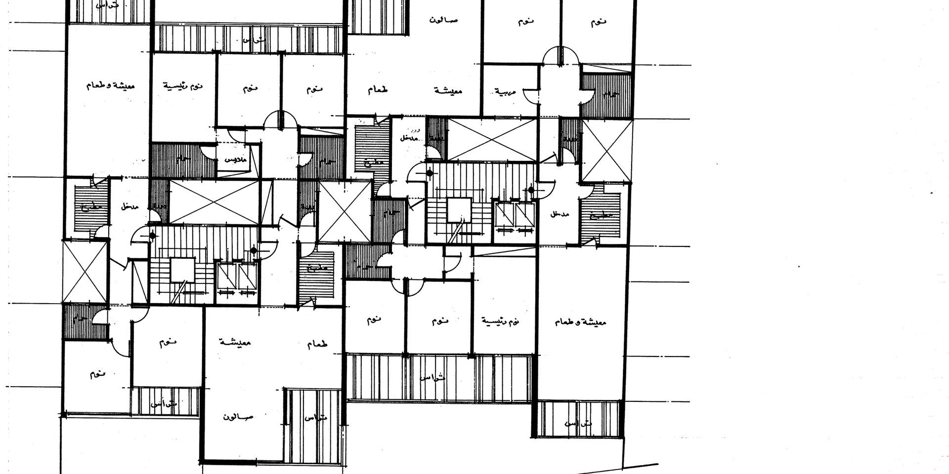 Lady Amira el Moteri Building Third Floor Plan
