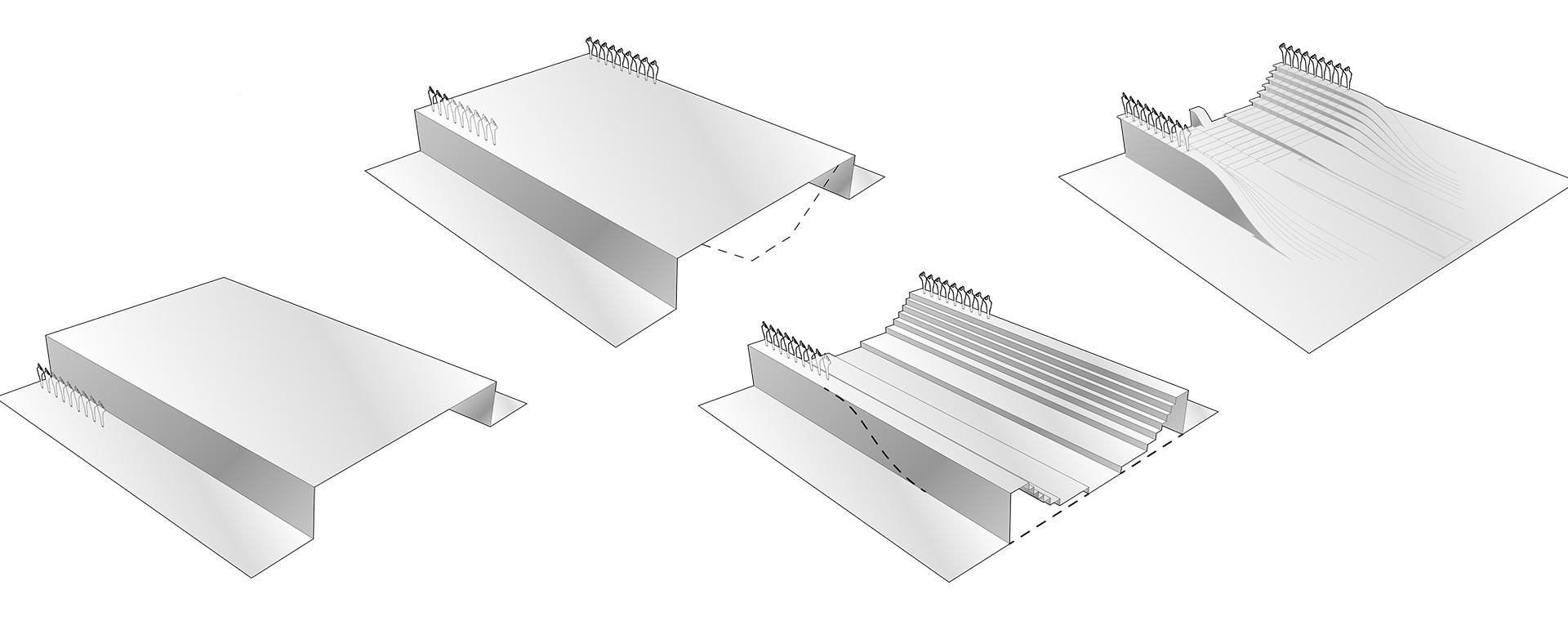 World War 1 Memorial Concept Diagrams