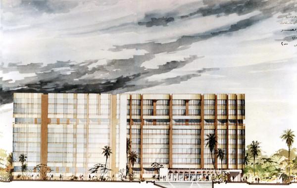 Hedico Heliopolis 2000 Facade Rendering