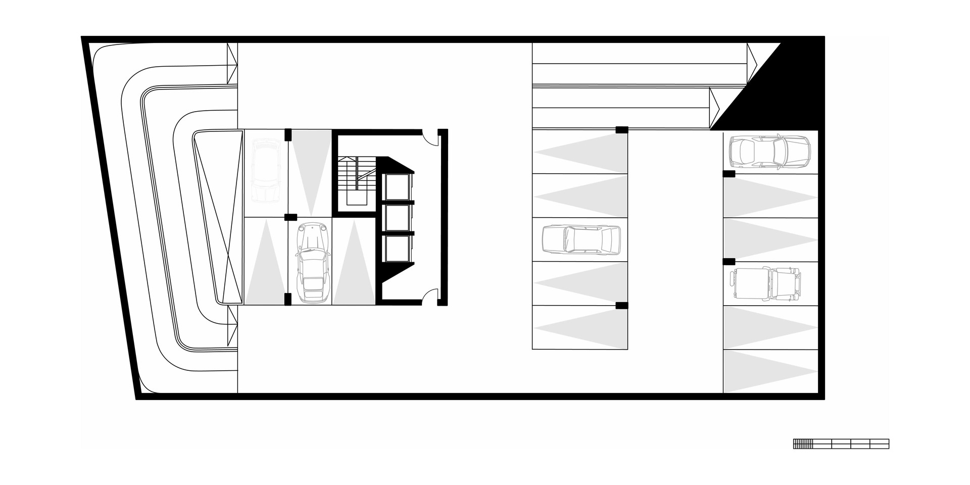 EcoOffices First Basement Plan