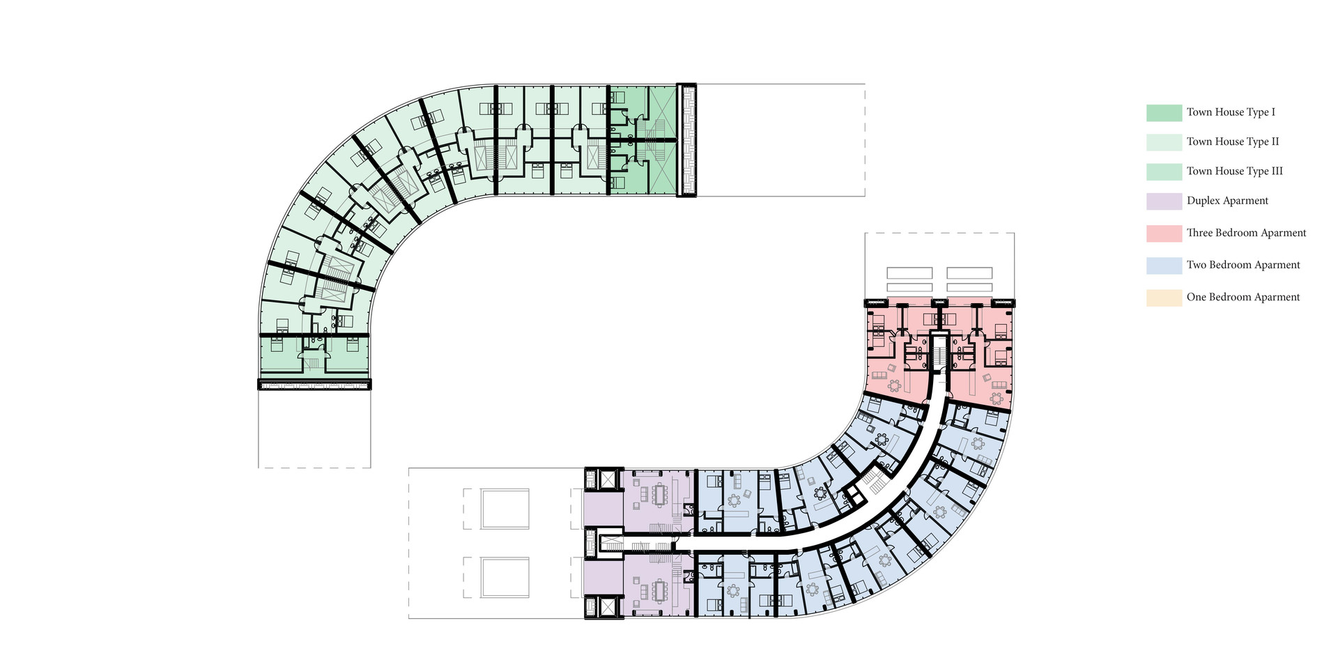 New Urban Village Christchurch Second Floor Plan