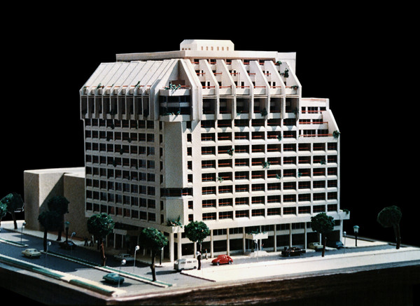 Misr Insurance Giza Mixed Use Building Architectural Model
