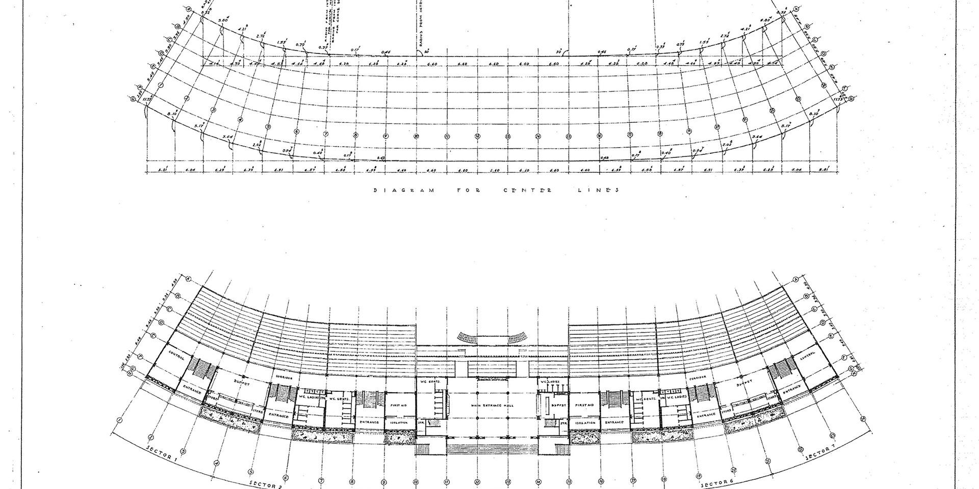 KSC Football Stadium Plan Detail