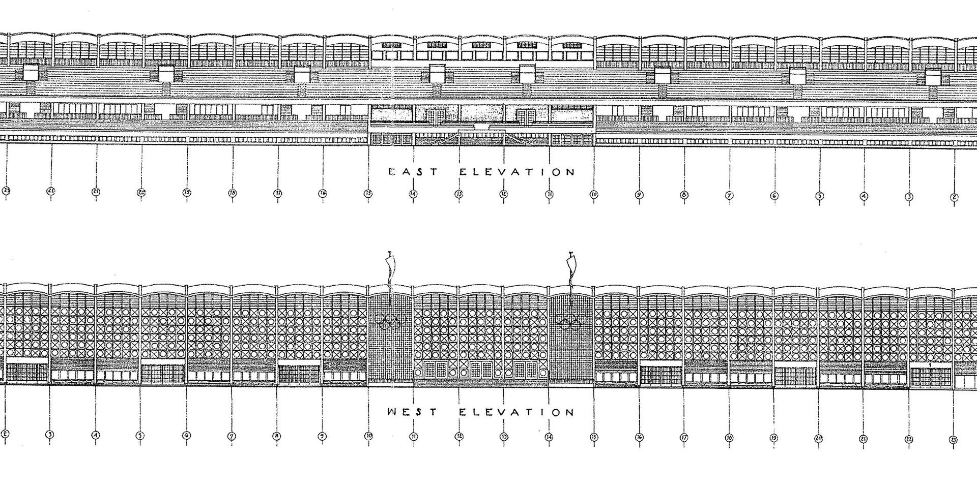 KSC Football Stadium Elevations