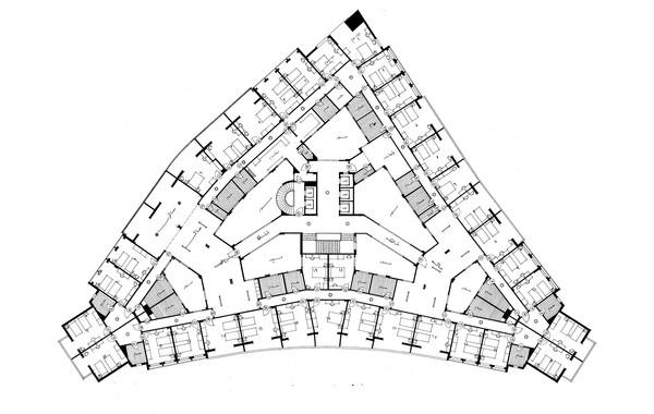 Nile Hotel Typical Floor Plan