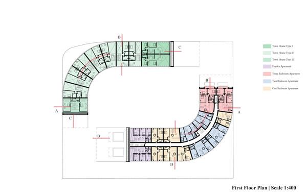 New Urban Village Christchurch First Floor Plan