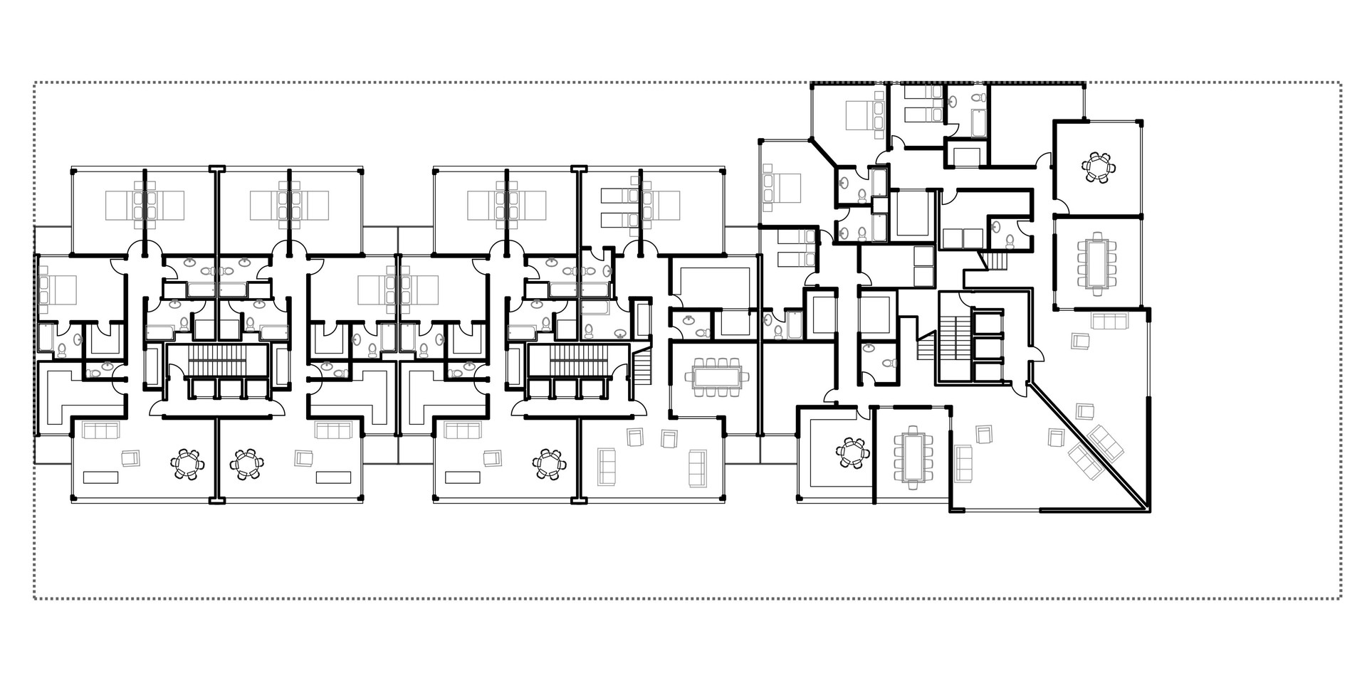 Lima Golf Tower Typical Plan 1