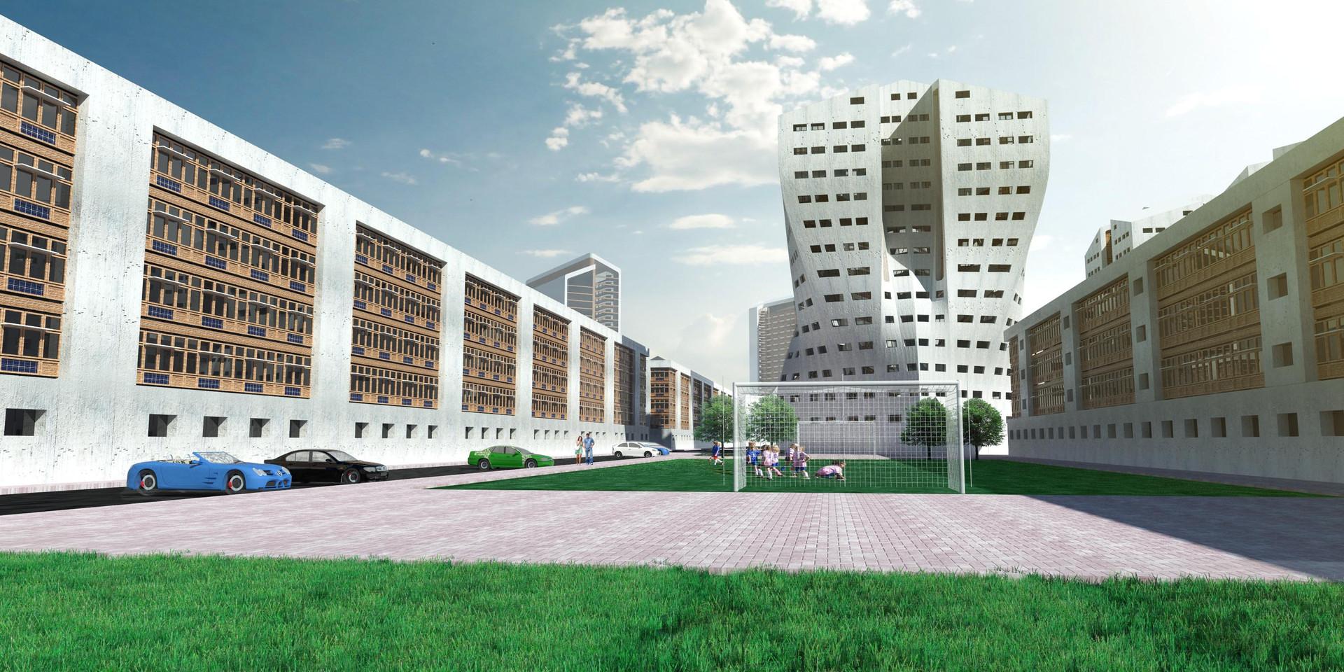Zim Masterplan Inner Square