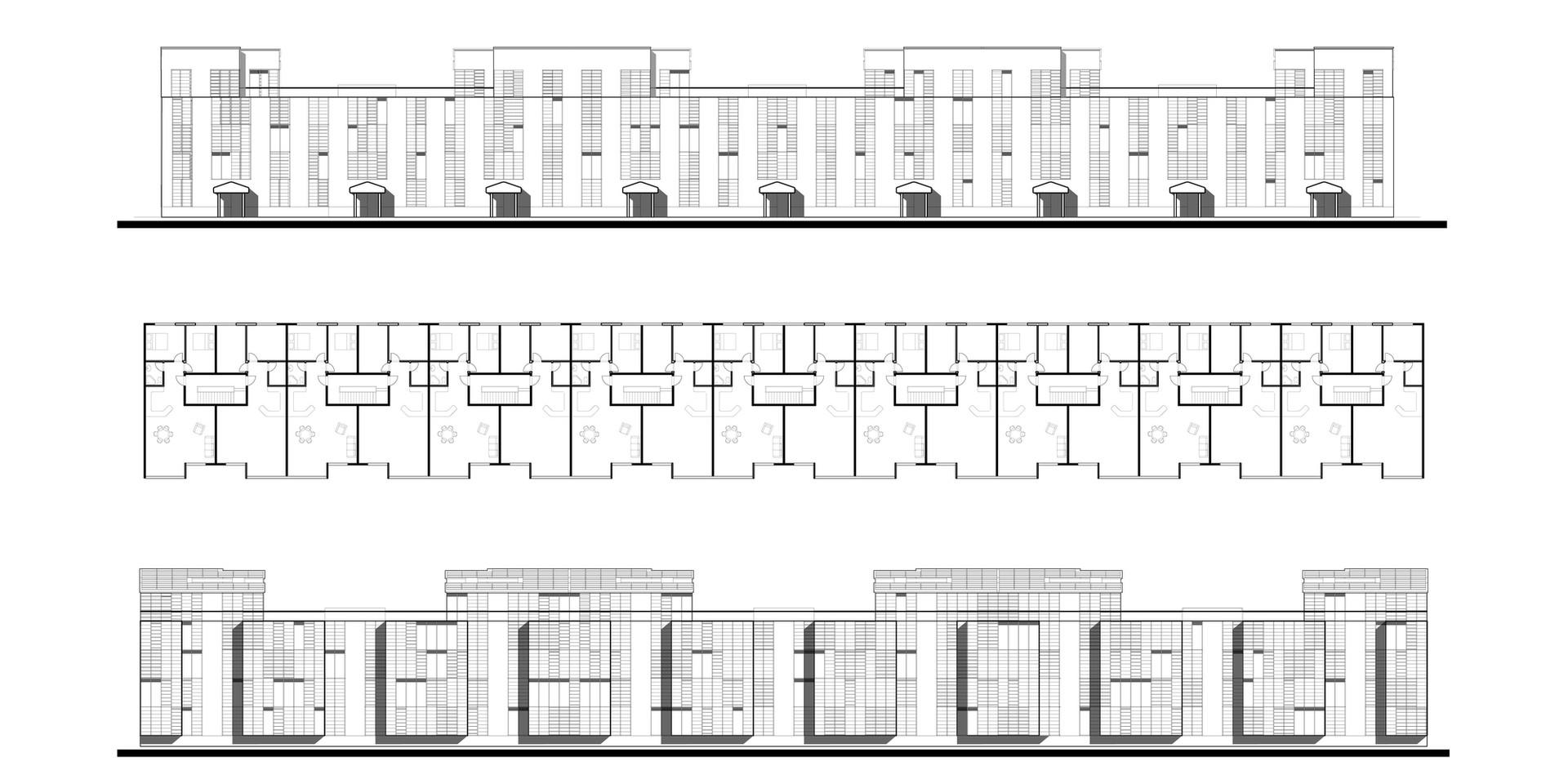 Ellebo Housing Renovation Block #3 Drawings