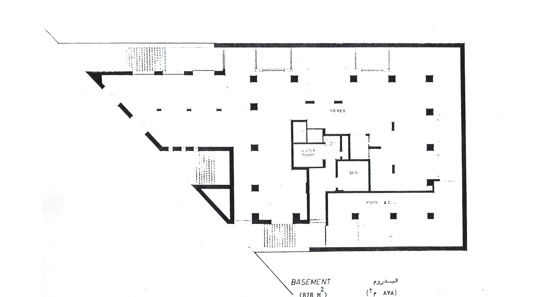 Hedico Main Office Building Basement Plan