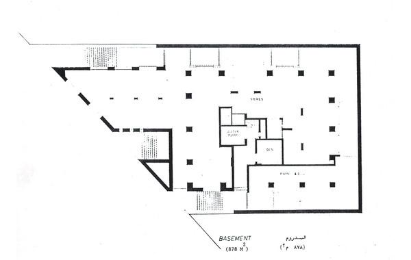 Hedico Main Office Building Basement Plan