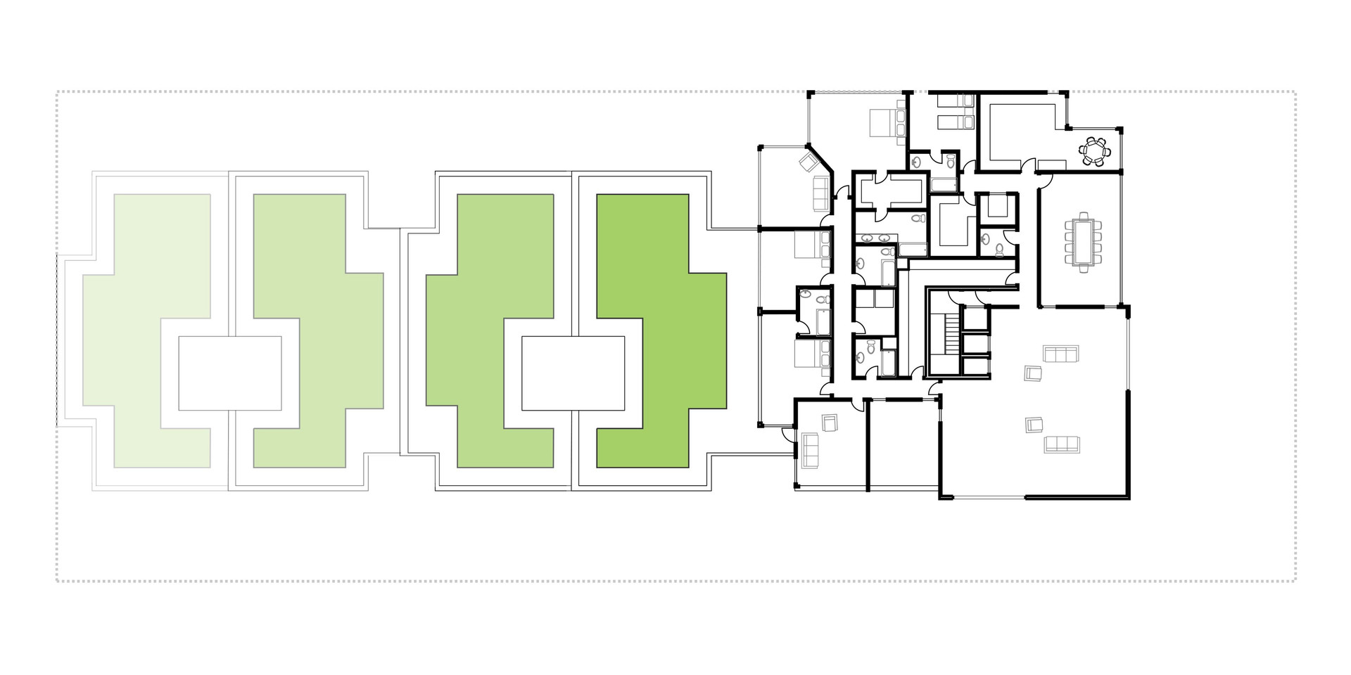 Lima Golf Tower Typical Plan 6