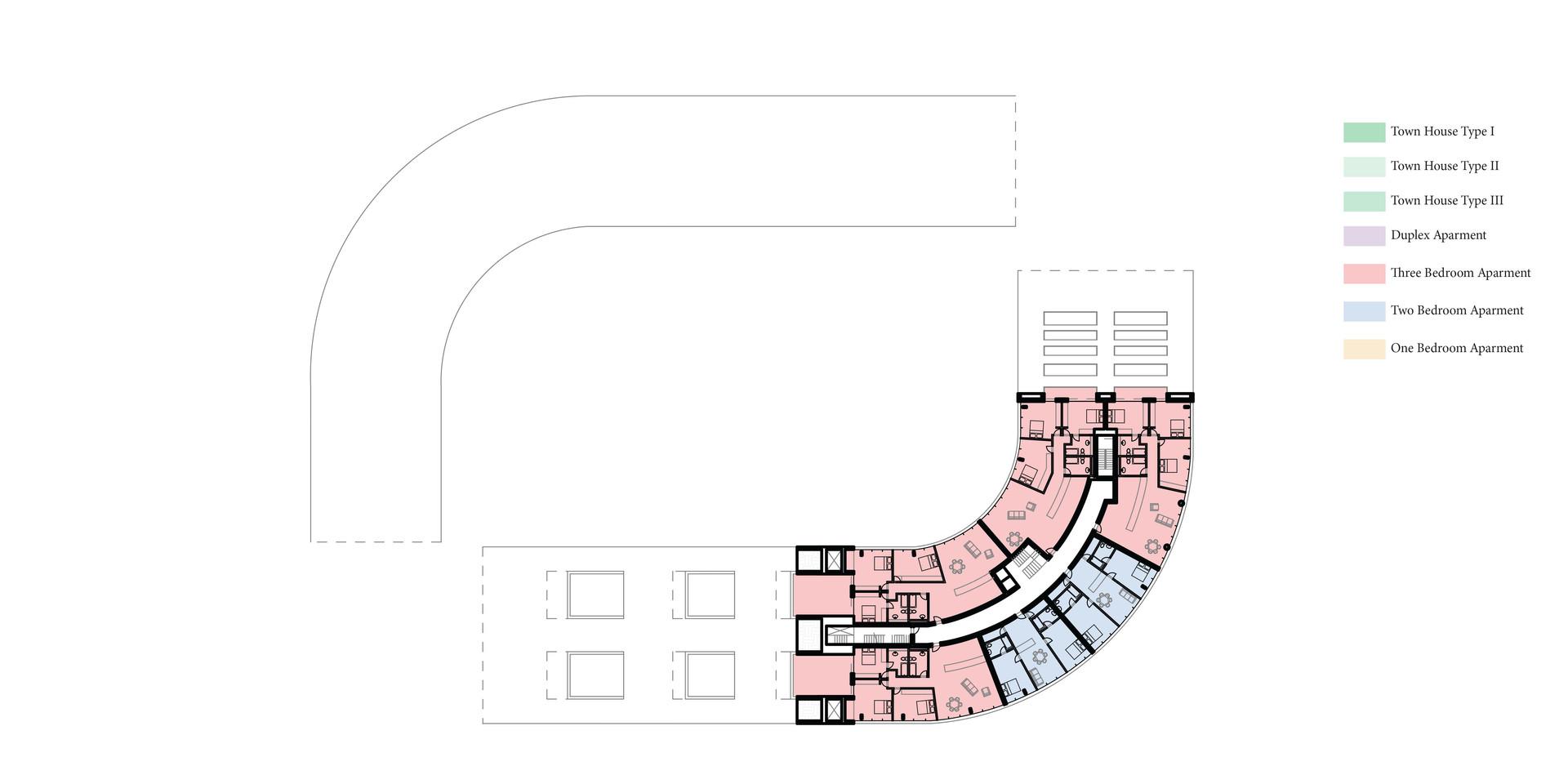 New Urban Village Christchurch Fourth Floor Plan