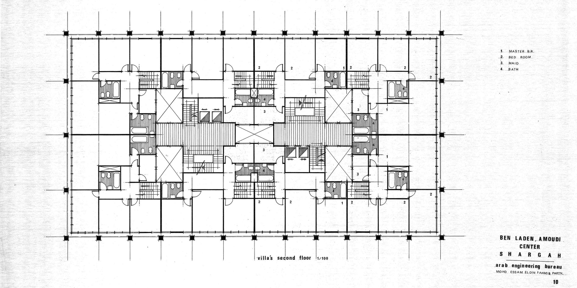 Amoudi Center Villas Second Floor Plan