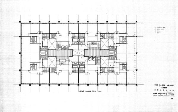 Amoudi Center Villas Second Floor Plan