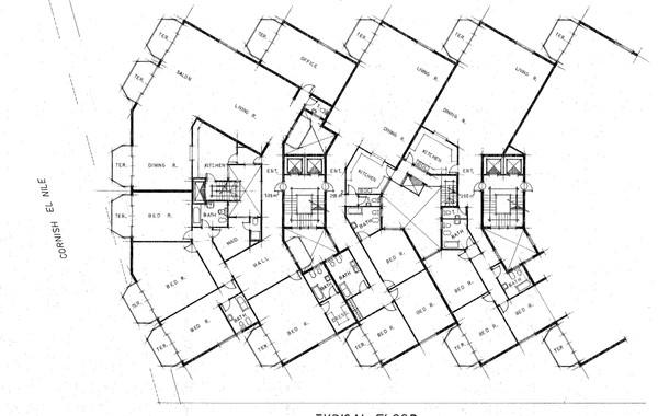 Hedico Maadi 200 Skyscraper Plan (Larger Scale)
