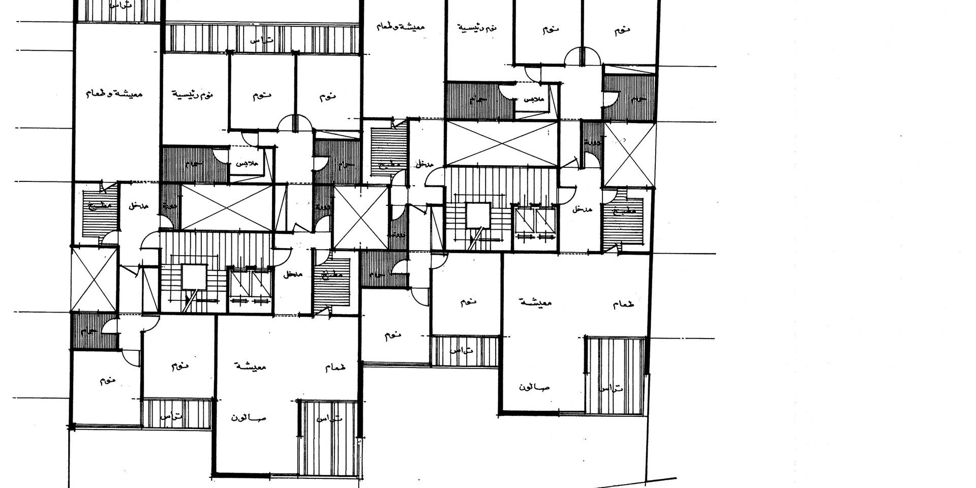 Lady Amira el Moteri Building Second Floor Plan