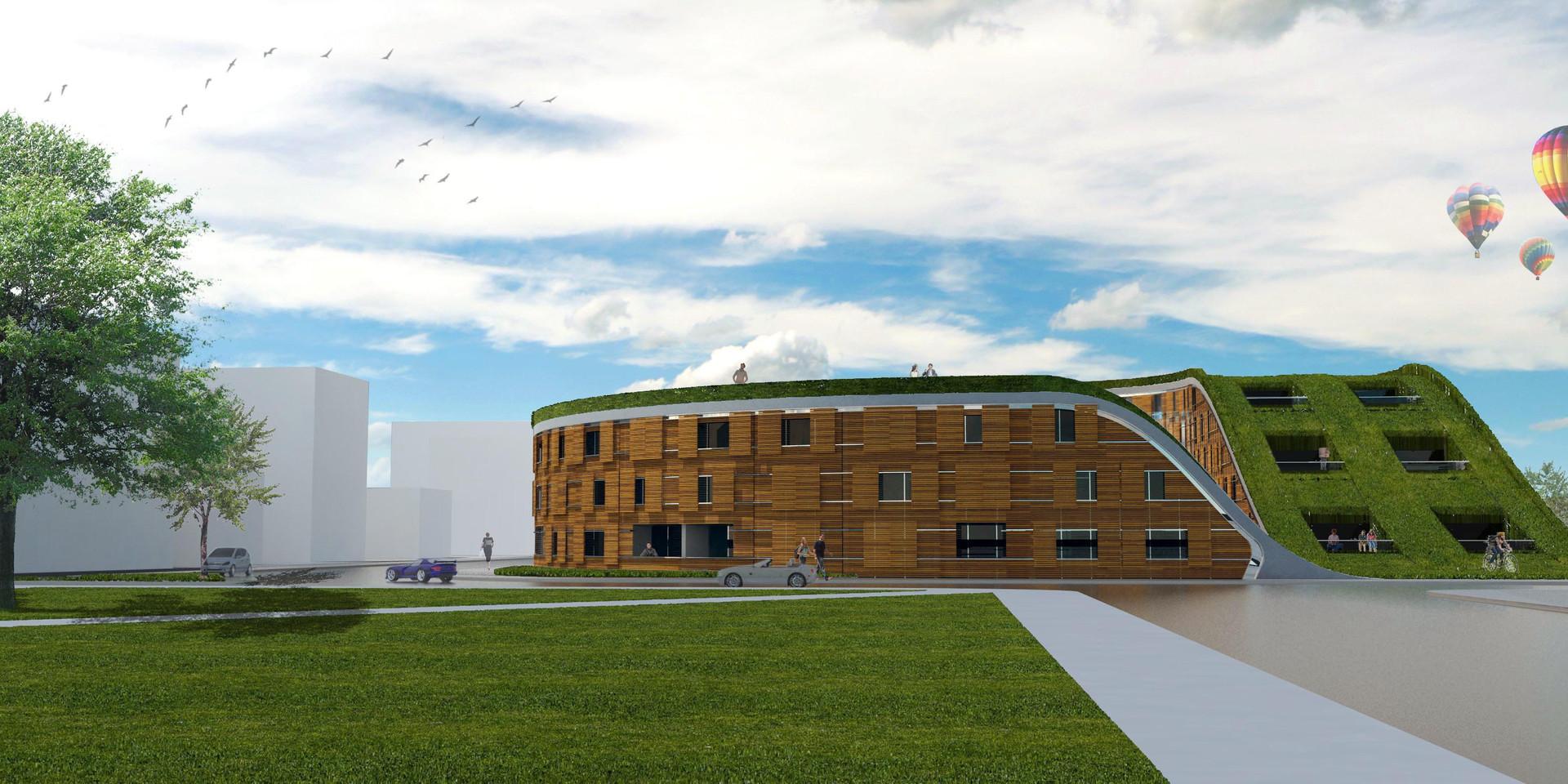New Urban Village Christchurch Latimer SquareView