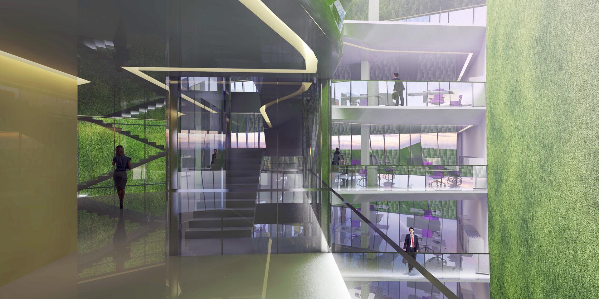 EcoOffices Interior Visualization