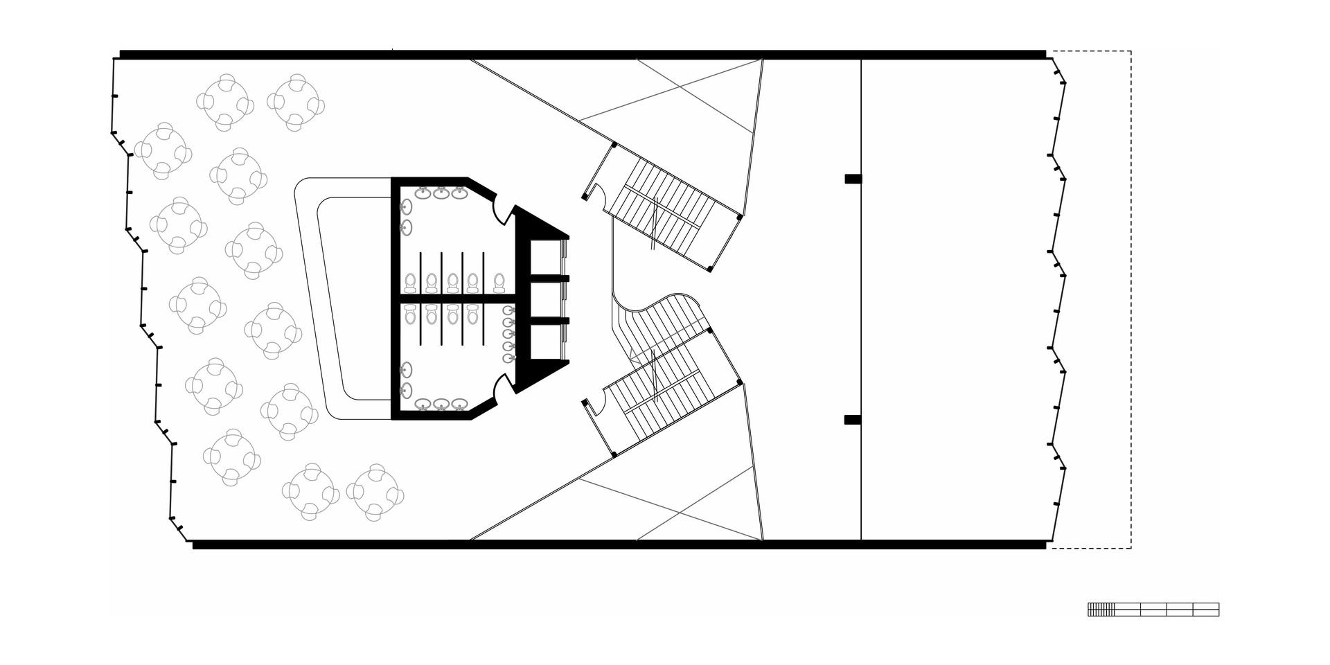 EcoOffices Top Floor Plan