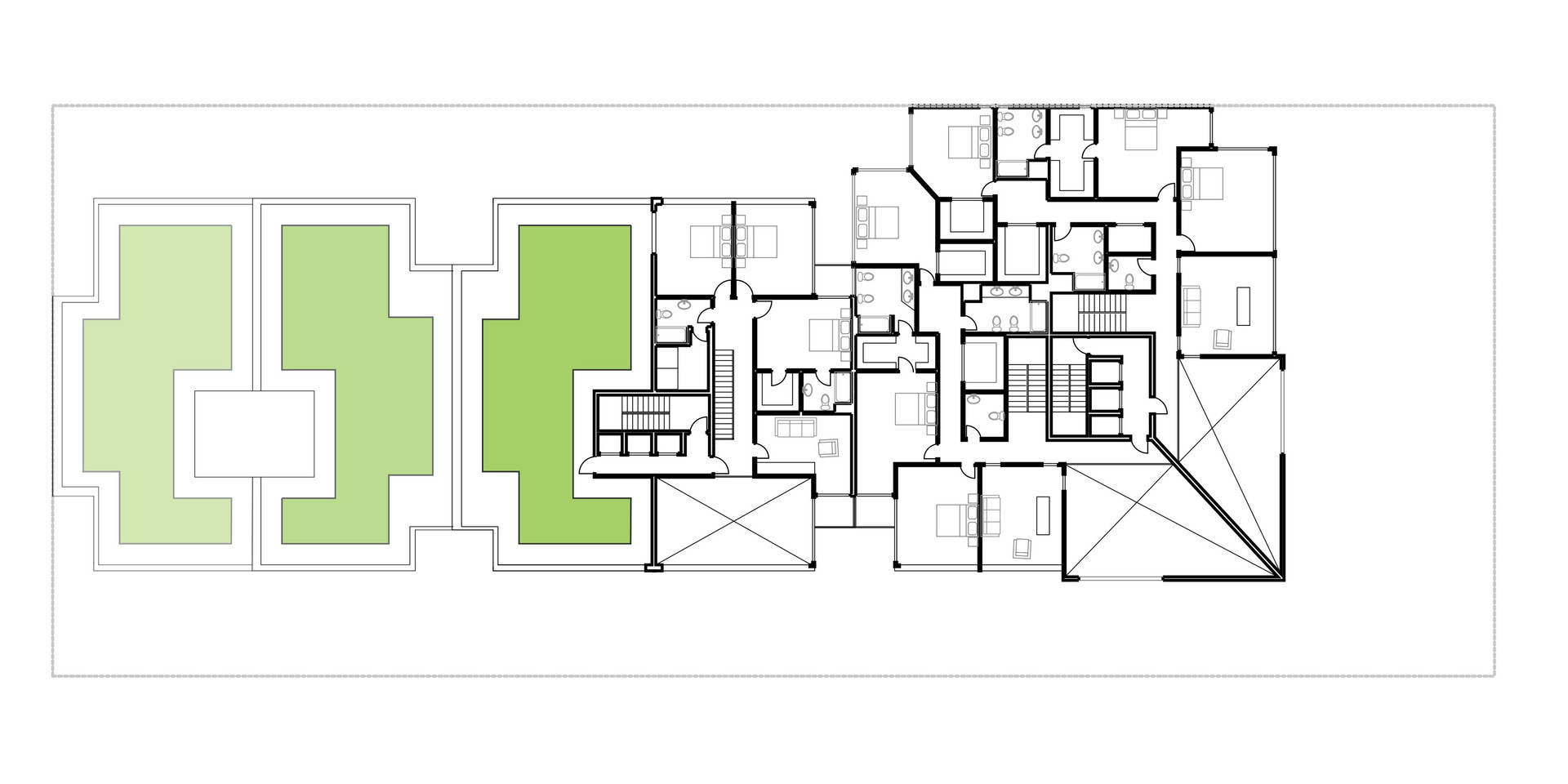 Lima Golf Tower Typical Plan 5