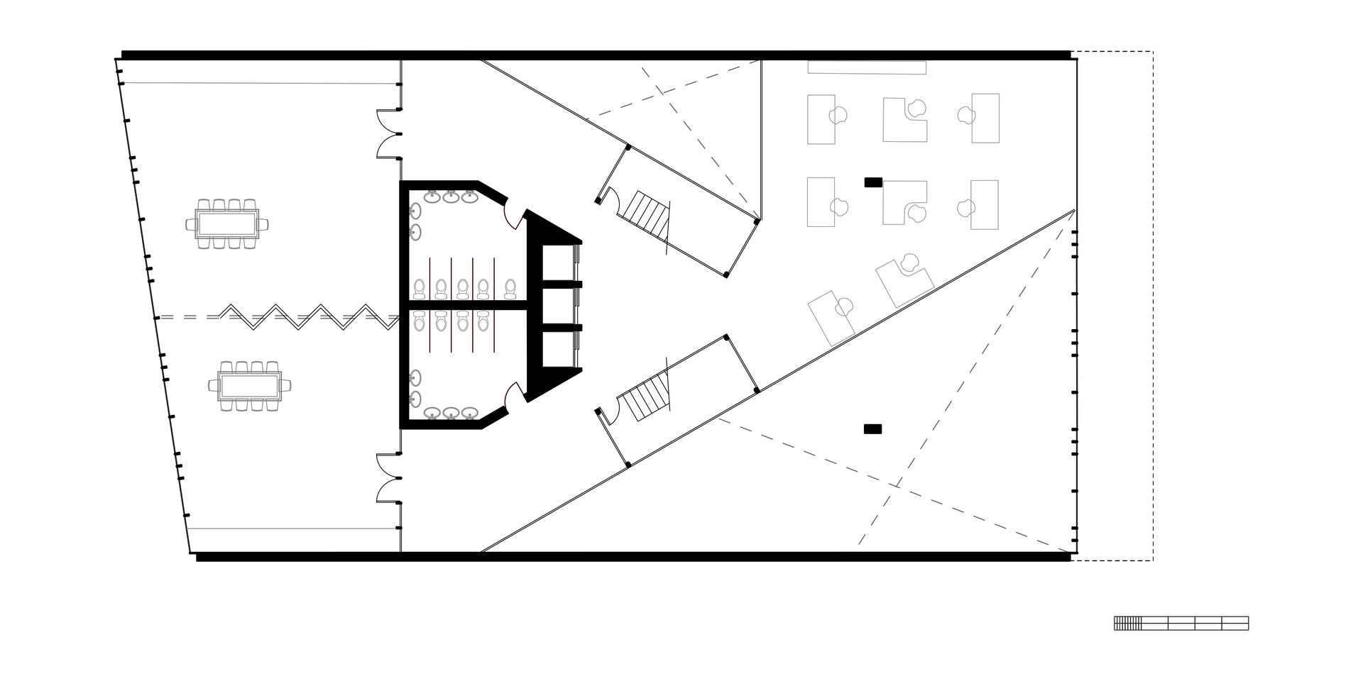 EcoOffices First Floor Plan
