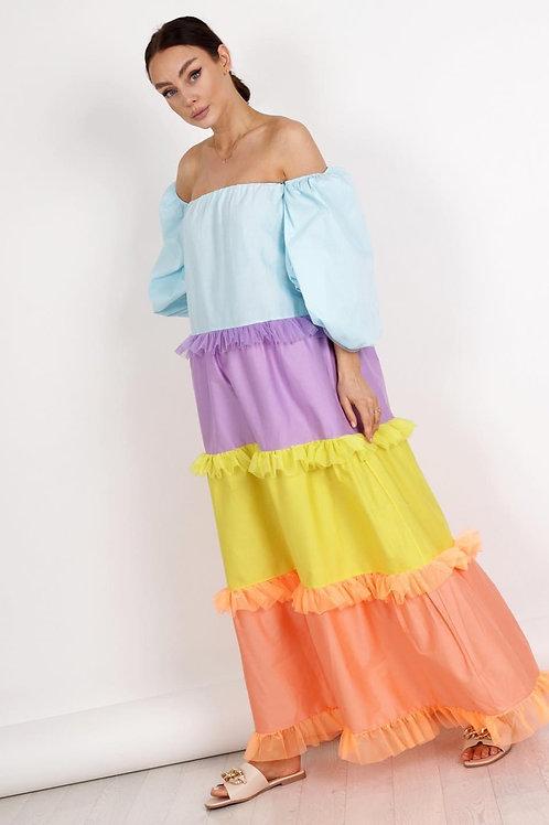Ilgo modelio suknelė