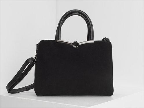 Elegantiška juoda rankinė