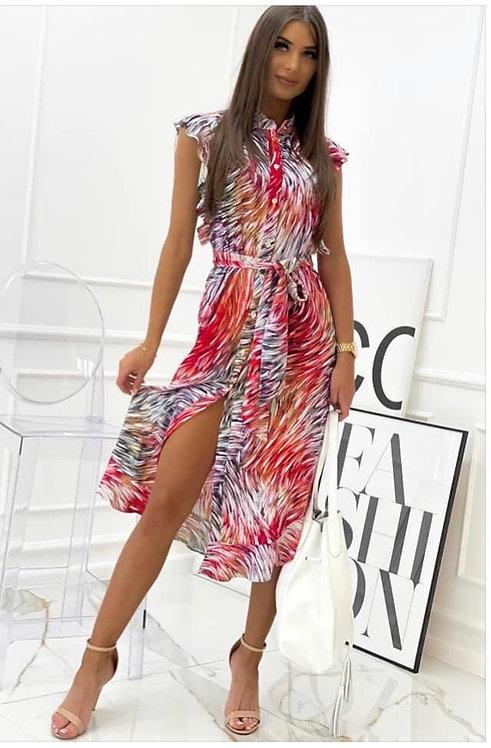 Marga vasariška suknelė