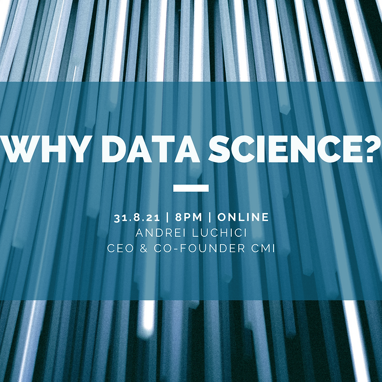 Why Data Science?