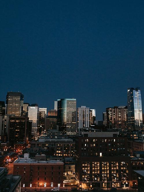 Glistening Downtown Denver