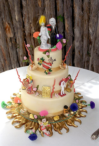 Southwest and Dia De Los Muertos Cakes
